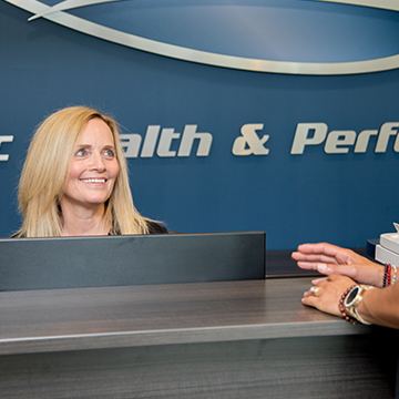Vivian LeBlanc, Dynamic Health Performance Receptionist